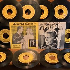 JERRY LEE LEWIS Lot SUN 281 296 Great Balls of FIRE High School Confidential +10