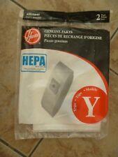 """HOOVER WindTunnel Genuine Parts ~ Type """"Y"""" HEPA Media Vacuum Bags #902419001"""
