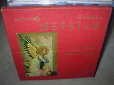 BEECHAM / HANDEL messiah ( classical ) 4lp box rca LD 6409 - shaded dog DG -