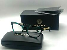 Authentic Versace Eyeglasses VE 3214 5076 GREEN TORTOISE  Frames 54-16-140MM NIB