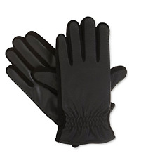 $255 ISOTONER MEN BLACK DRESS SMART TOUCH THERMAL WARM WINTER GLOVES SIZE XL