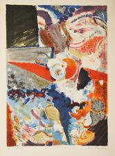 Jack CHAMBRIN- Lithographie signée- Le village