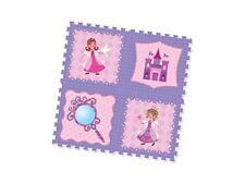 Gioco Tappeto Puzzle Delle Principesse Puzzle Maxi 4 Pezzi 95x95 cm Morbido