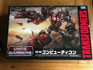 Takara UW08 Transformers Unite Warriors Computron BNIB