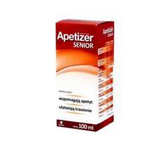 Apetizer Senior, syrop, 100 ml pobudza apetyt trawienie odporność 100 ml