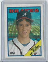 1988 Topps #779 - Tom Glavine Atlanta Braves HOF - Rookie
