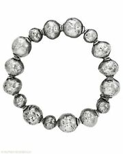 Silpada Sterling Silver Atmospheric Electroform Ball Bead Stretch Bracelet B1998
