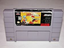 The Itchy & Scratchy Game - Super Nintendo SNES System *TESTED & CLEANED*