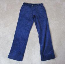 Vineyard Vines Corduroy Pants Mens Size 28x32 Navy Blue Whale Casual Slacks