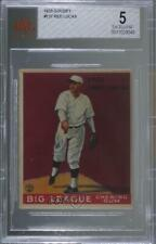1933 Goudey Big League Chewing Gum R319 Fred Luderus (Red) Lucas BVG 5 Rookie