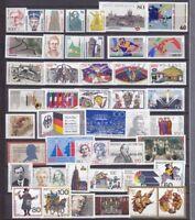 Bund Jahrgang 1989 - Auswahl aus Michel Nr. 1397 - 1443  , ** , postfrisch