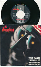 "THE STRANGLERS 45 TOURS 7"" UK WHO WANTS THE WORLD ?"