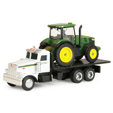 NEW JOHN DEERE 1/64TH SCALE PETERBILT TRUCK WITH 7200R TRACTOR- TBE45410