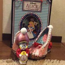 Disney Irregular Choice Alice in Wonderland WHITE RABBIT heel Pumps size 37