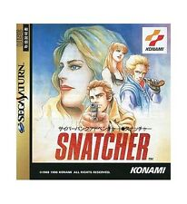 (Used) Sega Saturn Snatcher [Japan Import]、、