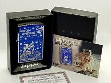 Nuevo/Raro Encendedor Zippo Con Caja alunizaje Julio de 20, edición limitada de 1969
