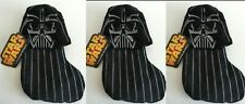 Nwt – Set of 3 - Star Wars Darth Vader Disney Mini 9� Stocking Msrp $30