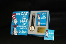 The Cat In the Hat 40th Anniversary Watch & Collector Tin