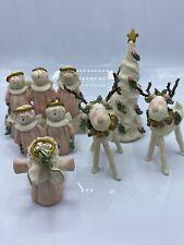 Nancye Williams Christmas Tree- Reindeer - Carolers- Sprinkles