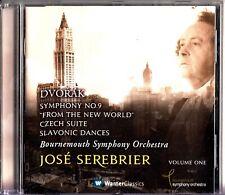 Dvorak: Symphony No.9, Czech Suite, Slavonic Dances CD -Jose Serebrier (BSO)
