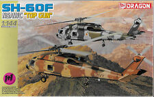 Dragon SH-60F NSAWC 'Top Gun' Helicopters in 1/144 (2 Kits) 4612 ST
