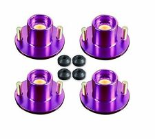 88-91 Civic Crx Ef Dx LX EX Suspension Coilover Shock Top Hat Strut Tower Purple