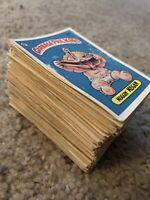 1985 Topps Garbage Pail Kids Original Series 2 - Lot Of (139) Cards. Low Grade.