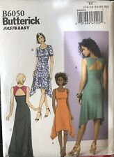 Butterick fast & easy pattern B6050 Misses'/Petite Dress sz 14,16,18,20,22 uncut