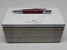 Faber Castell e-motion Drehkugelschreiber Edelharz Kroko Hibiskusrot -30%! NEU!