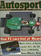Autosport Feb 9th 1984 *European Rally Review*
