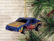 CHEVY STOCKER CHEVROLET STOCK CAR RACING RACE BLUE CHRISTMAS ORNAMENT