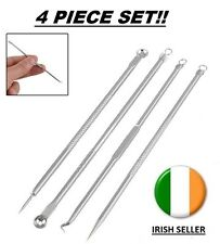 4pcs Blackhead Comedone Acne Blemish Remover Stainless Needles Remove Tool