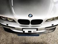Splitter Fo BMW E39 M5 M Front Bumper spoiler lip Chin CSL Sport Power Skirt DTM