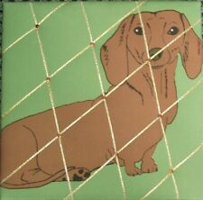 Padded Notice / Message / Memo Board (Sausage Dog)