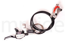 Shimano LX ST-M585 Dual Control Shifter and Disc Brake Rear(right) 1700mm Silver