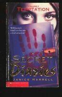 Complete Set Series Lot of 3 Secret Diaries books Janice Harrell YA Temptation