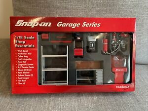 SNAP-ON Garage Series 1:18 Scale Shop Essentials TrueScale Miniatures 08002 USED