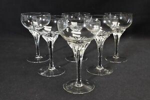 Belfor Exquisite Crystal Set of 6 Liquor Cocktail Glasses