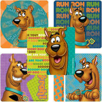 20  Scooby Doo Stickers Party Favors Teacher Supply Rewards