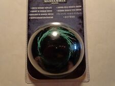 Warhammer 40000 Vortex Grenade Template Factory Sealed
