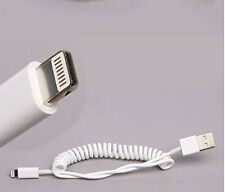 Lightning USB Kabel Apple iPhone iPad spirale elastisch coiled elastic ios kurz