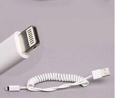 Lightning USB Kabel Apple iPhone iPad spirale elastisch coiled elastic ios kurz