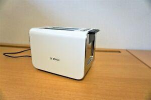 Bosch TAT8617GB03 Styline 2 Slice Toaster White - 860 Watt