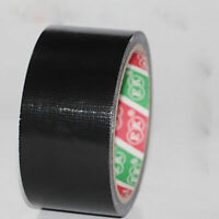 adhesive Cloth Duct Tape 4.8cm*9m Waterproof Heavy Duty Gaffer Black Qualit E4J3