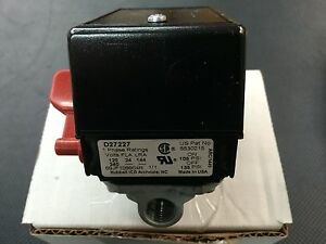 Craftsman Devilbiss Porter Cable 5140117-70 Air Compressor Pressure Switch