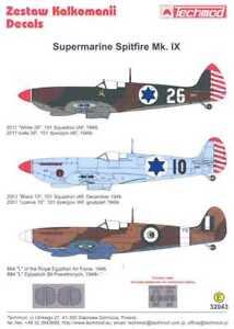 Techmod Decals 1/32 SUPERMARINE SPITFIRE Mk.IX w/Masks
