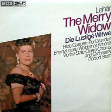 Lehar The Merry Widow Hilde Gueden NEAR MINT 2xLP Gatefold Decca DPA 573-4