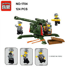 Enlighten 1704 Military Army Antiaircraft Gun Building Block Toy blocks toys