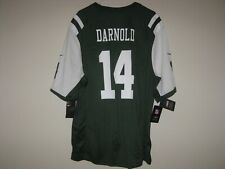 NY Jets on Field Jersey 14 DARNOLD Men XL Nike Official NFL Screen Print