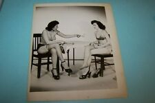 Vintage pinup risque black and white photo #B1-050